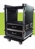 rack para amplificador - 12u x 65cm profundidade ( rodas )