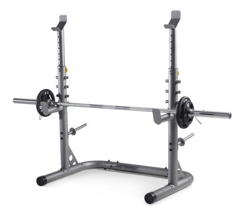 rack para pesas gold's gym xrs 20