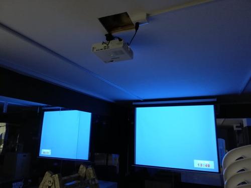 rack para proyector universal/canastilla