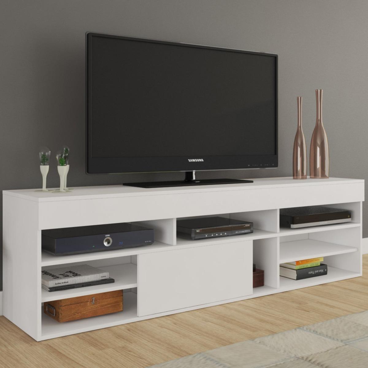 Rack Para Tv At 55 Polegadas Cedro Siena M Veis Fi R 209 90 Em  -> Rack Pra Sala De Tv