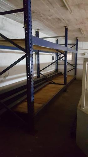 rack pesados mecalux de 2 cuerpos