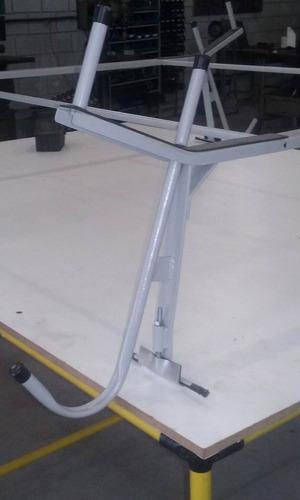 rack porta escada para kombi de tetos altos e baixos