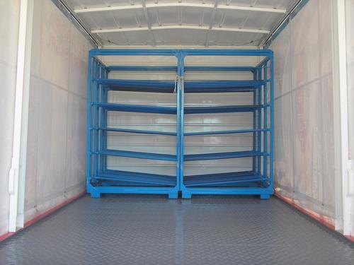 rack portabidones bidoneras camiones soderia agua