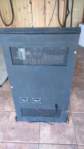 rack potencia 220w ecualizador consolas y reproductores