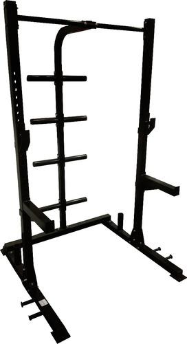 rack sentadilla multiposición profesional - crossfit