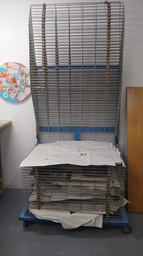 rack serigrafía 70x100 cm/50 rejillas