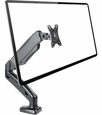 rack soporte  para 1 monitor 14 a 27 pulg - escritorio
