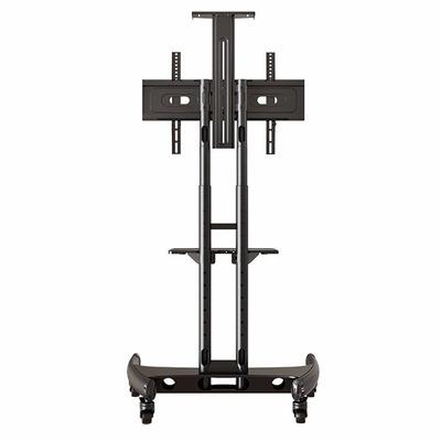 rack / soporte pedestal con rueda para tv  42 a 70 pulg