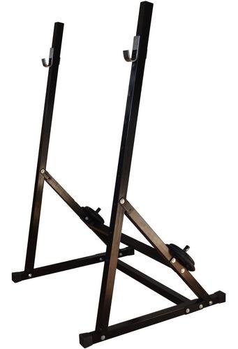 rack suporte cavalete agachamento e supino - fitness prado