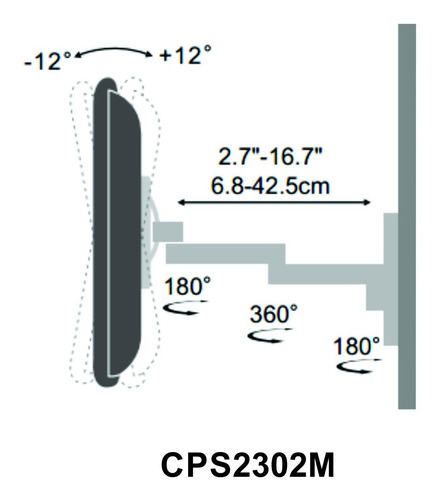rack televisor de pared ,soporte de pared para tv , tv37