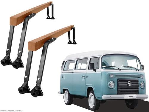 rack teto madeira kombi vhip volkswagen