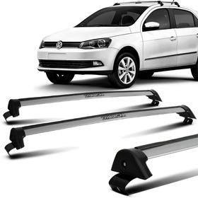 Rack Teto Volkswagen Gol Voyage G5 G6 G7 Prata