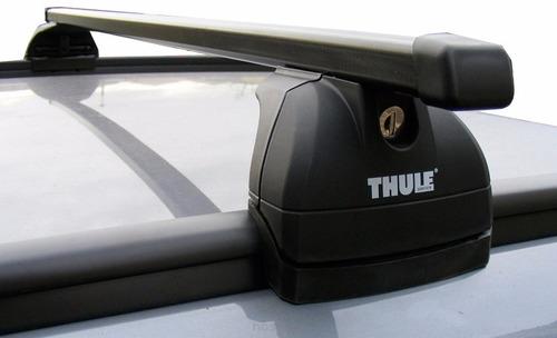 rack thule subaru forester 97 até 02 com longarina integrada