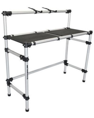 rack titanium rdj control p/ controladora ou cdj e mixer