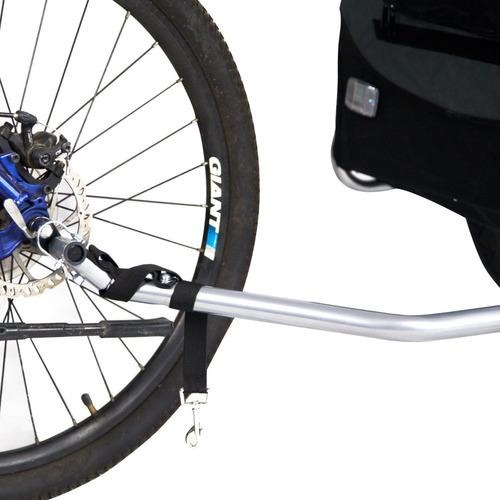 rack - trailer de bicicleta para su perro(s)