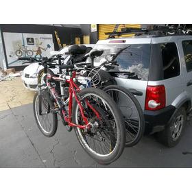 Rack Transbike Suporte  Bicicleta Bike Carro  Estepe 3 Bikes