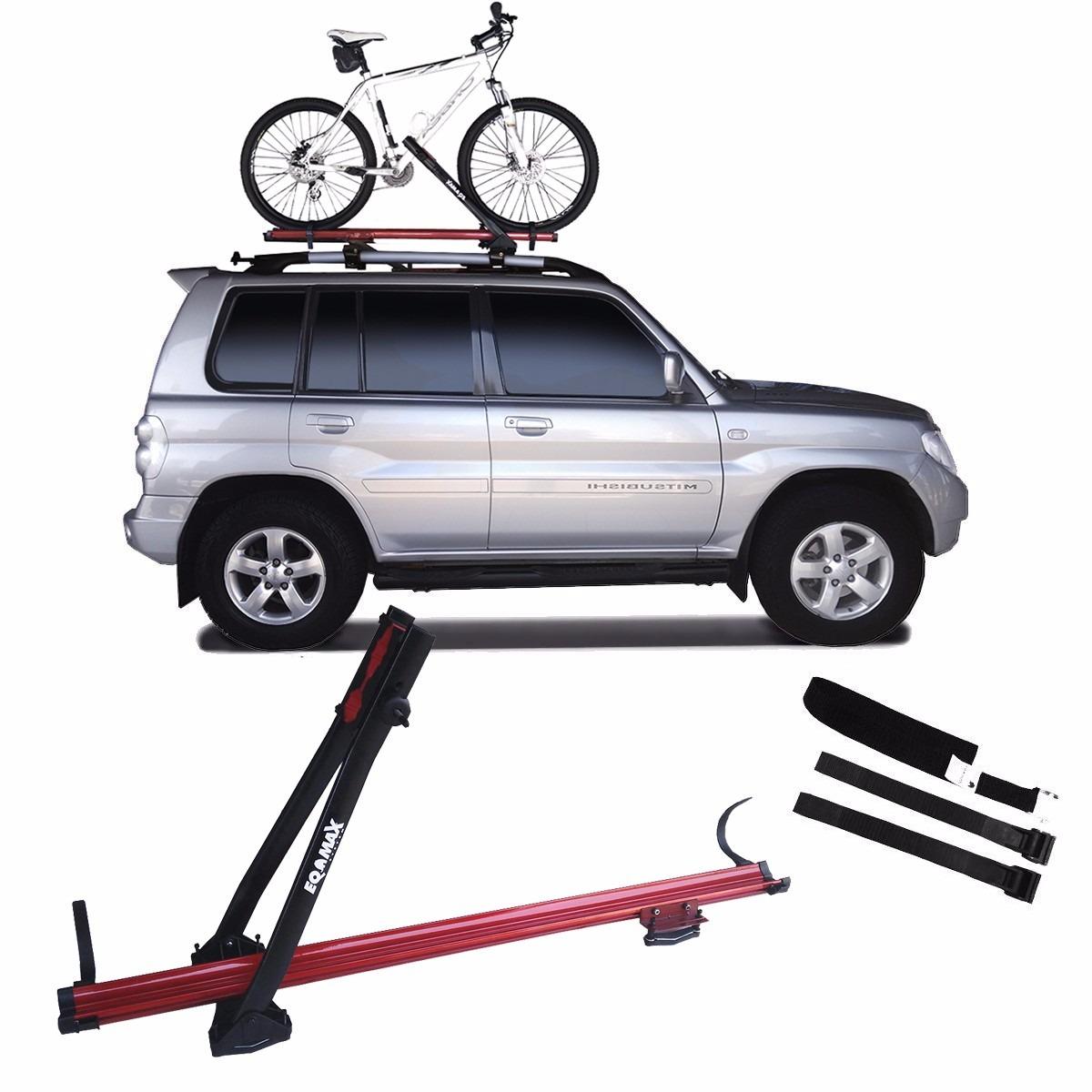 60d6dd608 rack transbike teto calha bike eqmax velox alumínio vermelho. Carregando  zoom.