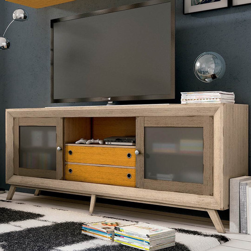 rack tv estilo vintage -art deco- paraiso