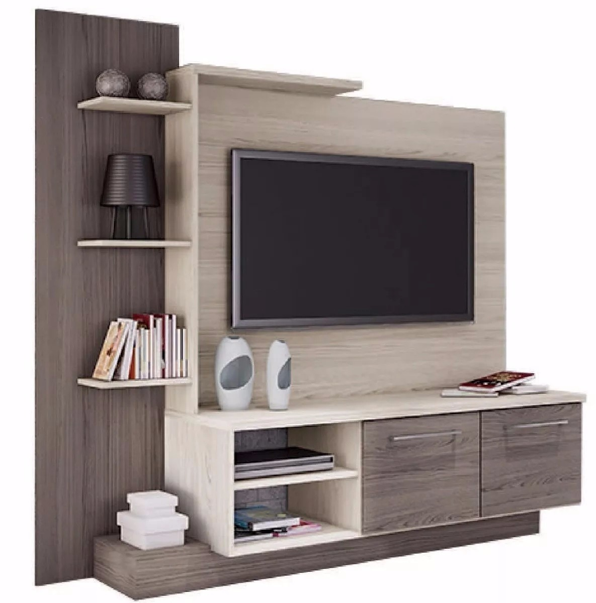 rack tv mesa led lcd mueble de comedor modular home theater en mercado libre. Black Bedroom Furniture Sets. Home Design Ideas