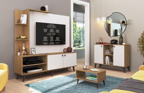 rack tv mesa tv led lcd home modular living linea retro lg