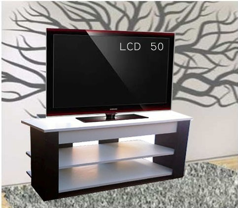 Rack tv para lcd hasta 50 pulgadas en mercado for Muebles para led 50 pulgadas