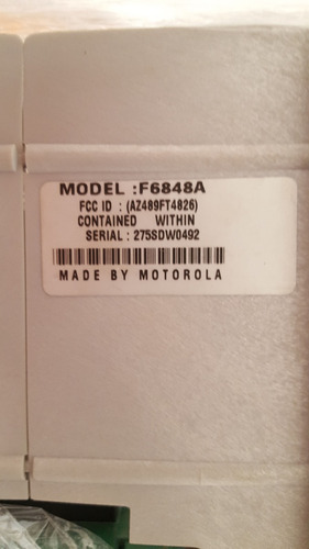 rack utr motorola moscad 4 slots f6848a 275sdw04