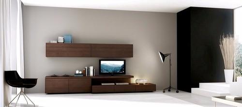 rack vajillero mueble lcd/tv modelo monza