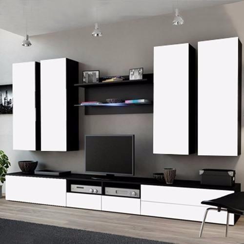 rack vajillero tv led modular