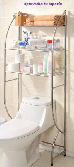 Rack wc triple betterware ba o repisas toallas 2 100 - Repisa bano ikea ...
