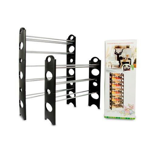 rack zapatera 10 niveles 30 pares zapatos organizador mueble