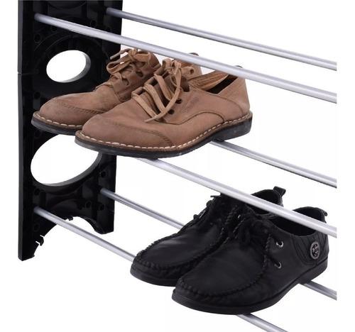 rack zapatera organizador 10 niveles 30 pares zapatos modular