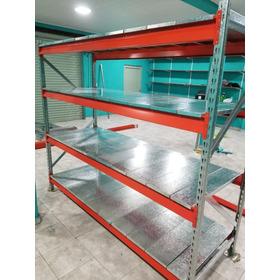 Racks 2.00x0.60x200 Con 3 Niv. C/pisos Metalicos Incluidos!!