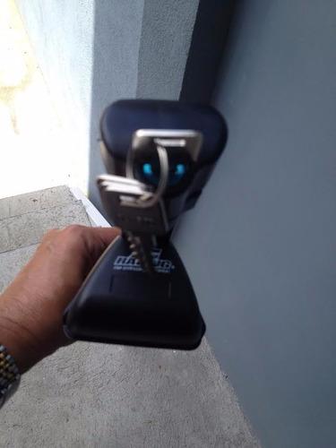 racks aluminio, negros, llave, p/ autos con racks laterales