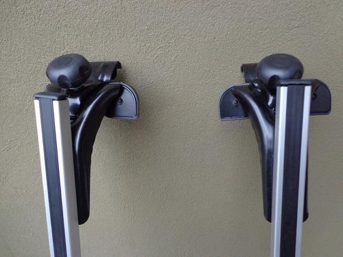 racks barras de techo, aluminio, universales, llave especial