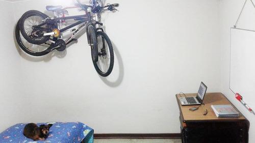 racks de pared 2 bicicletas modelo desmontable marca tato