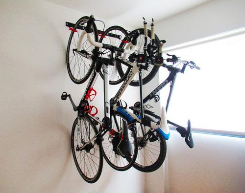 racks de pared para 3 bicicletas modelo triple marca tato