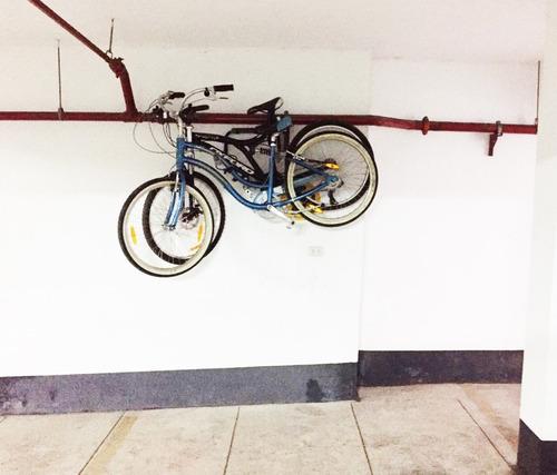 racks de pared para dos bicicletas modelo fijo marca tato