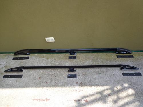racks laterales, a lo largo de su techo, en acero, todo vehí