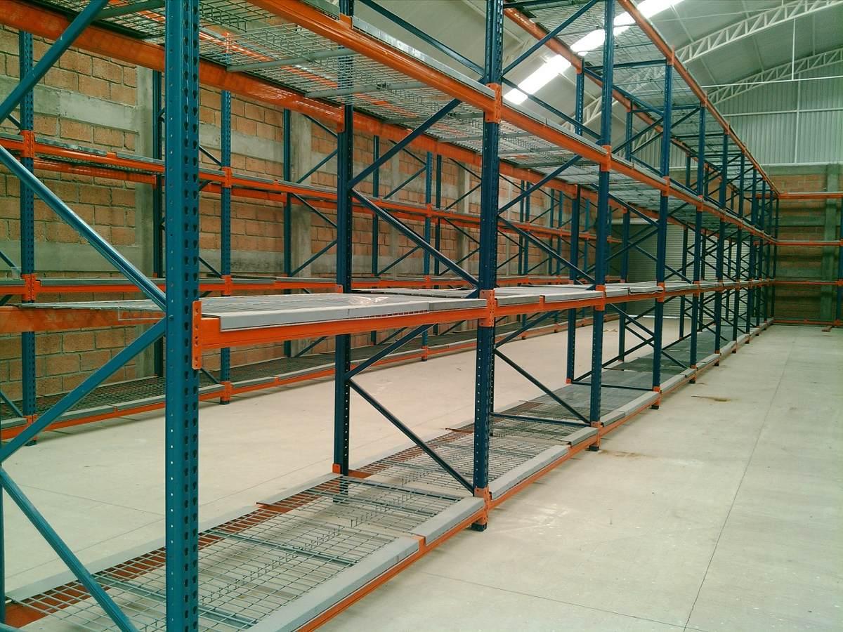 Racks para bodega estantes anaquel industrial selectivo - Estantes para bodegas ...