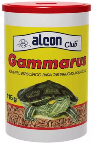 ração alcon gammarus 115gr - camarão p/ tartarugas e répteis