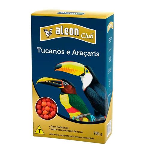 ração alimento pássaros alcon club tucanos e araçaris 5kg