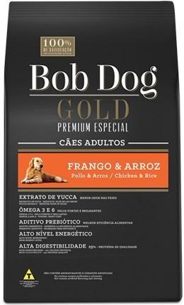ração bob dog gold premium especial frango&arroz 15kg