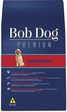 ração bob dog gourmet premium 15kg