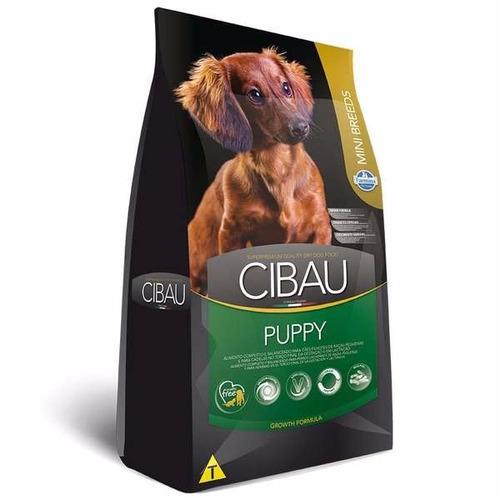 ração cibau puppy mini breeds raças pequenas filhotes 7,5 kg