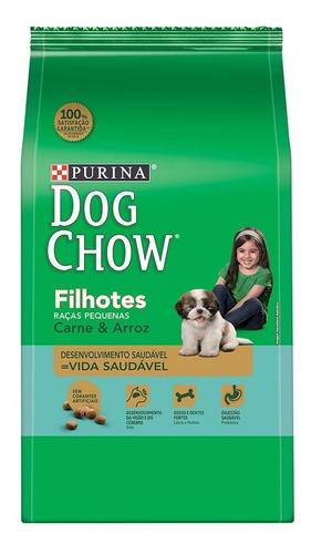 ração dog chow filhote