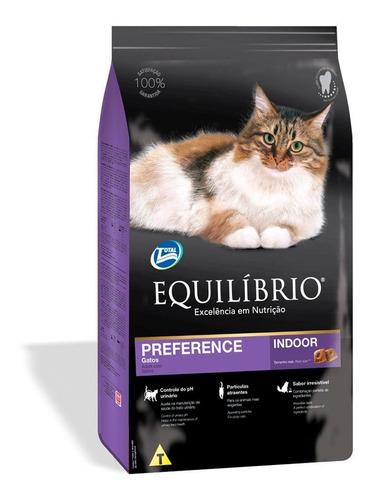 ração equilíbrio preference para gatos exigentes 1.5kg