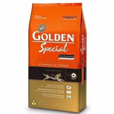ração golden 15kg