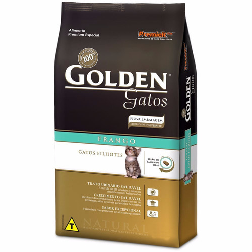 ração golden filhotes 10kg