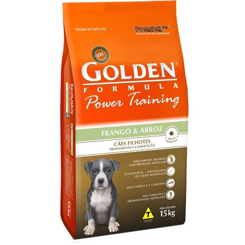 ração golden filhotes 15kg
