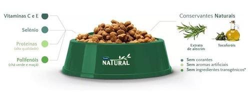 ração guabi natural cães adultos porte médio 15kg cachorro